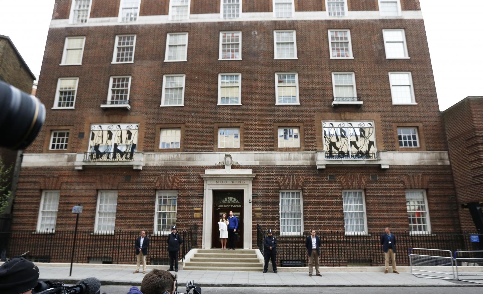 St. Mary's hospital, west London