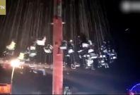 Fairground ride crash China