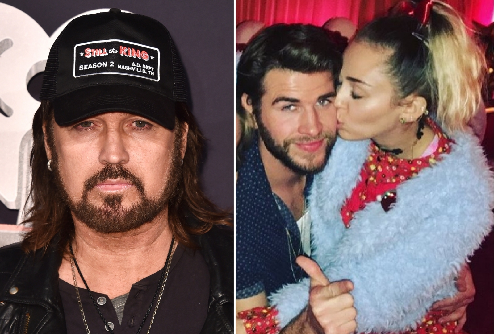 Billy Ray Cyrus Miley Cyrus Liam Hemsworth