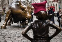 Fearless Girl statue
