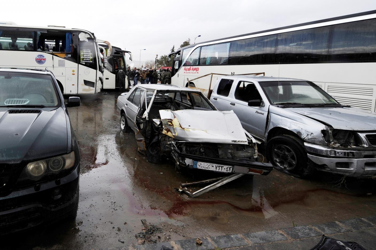 Damascus attack