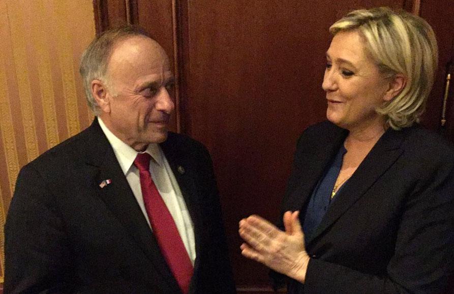 Steve King and Marine Le Pen