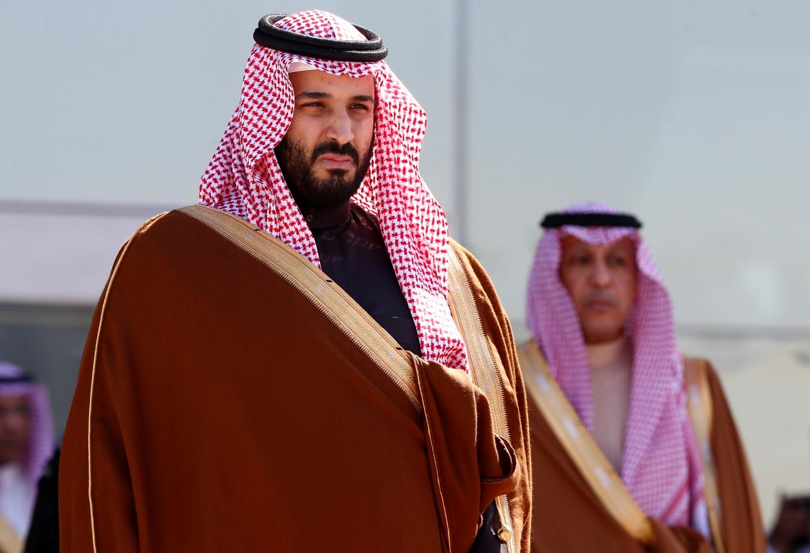 Deputy crown prince of Saudi Arabia