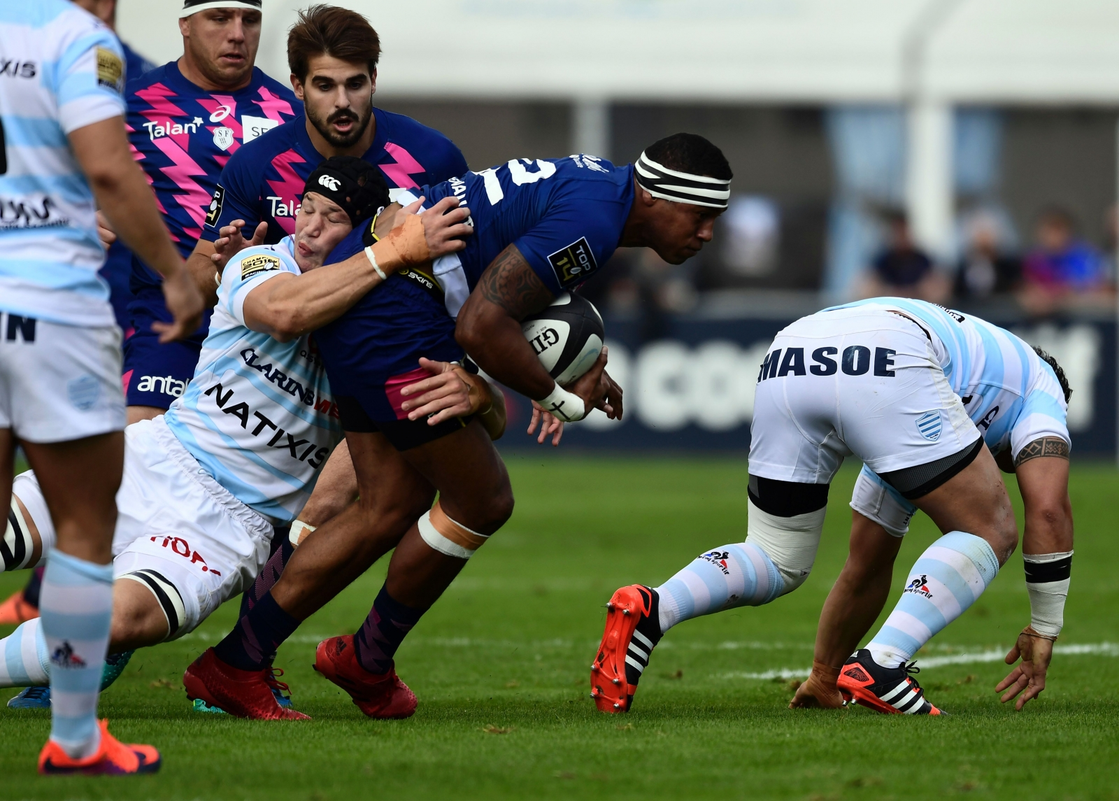 Stade Francais and Racing 92