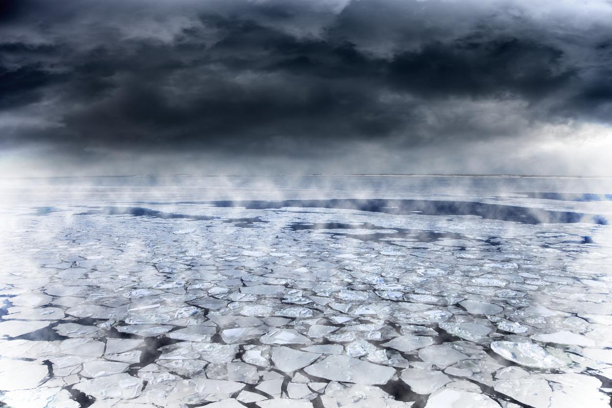 frozen ice age