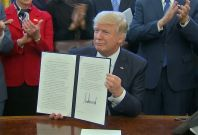 "Trump Signs Executive Order For ""Lean"" Government"