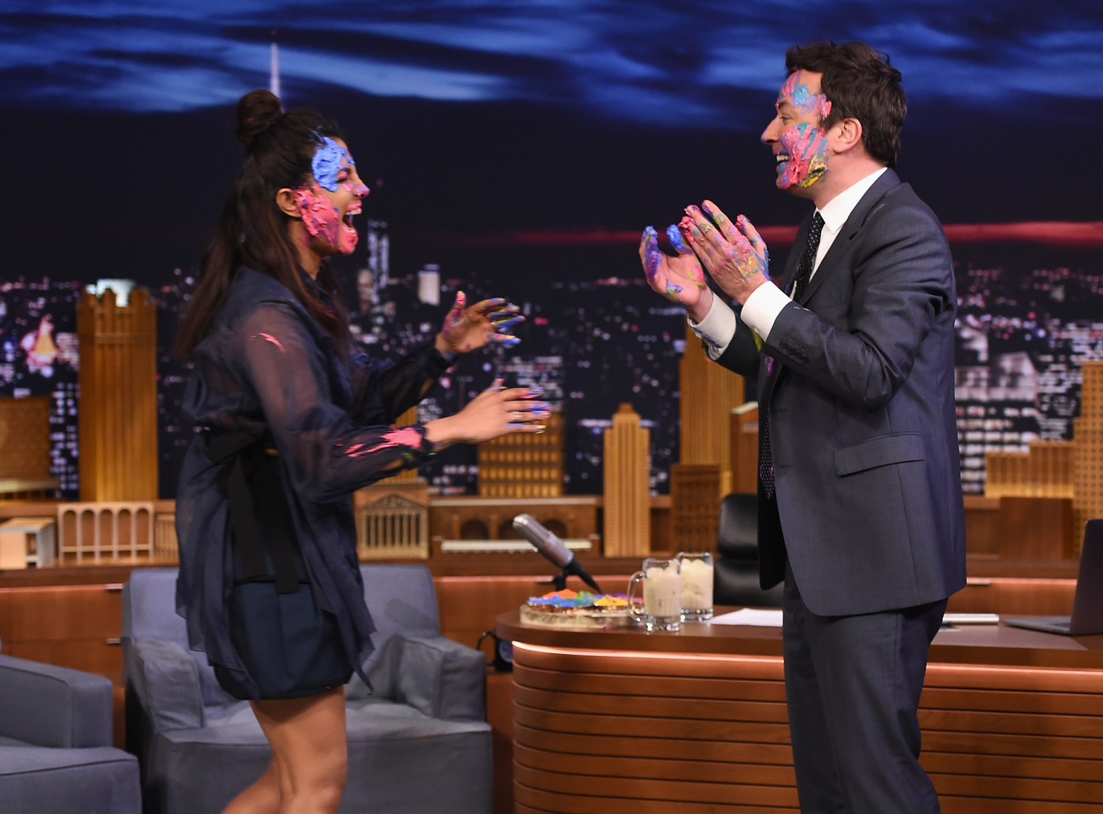 Priyanka Chopra, Jimmy Fallon
