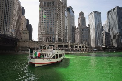 St Patricks Day, Chicago