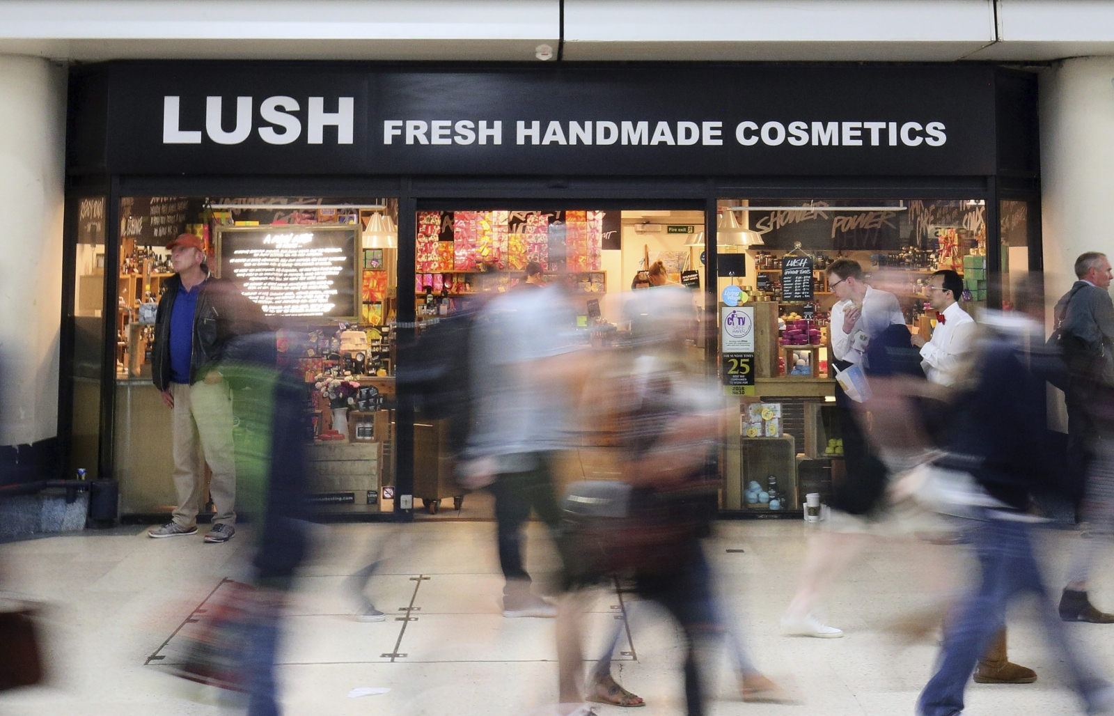 Lush Cosmetics store in London