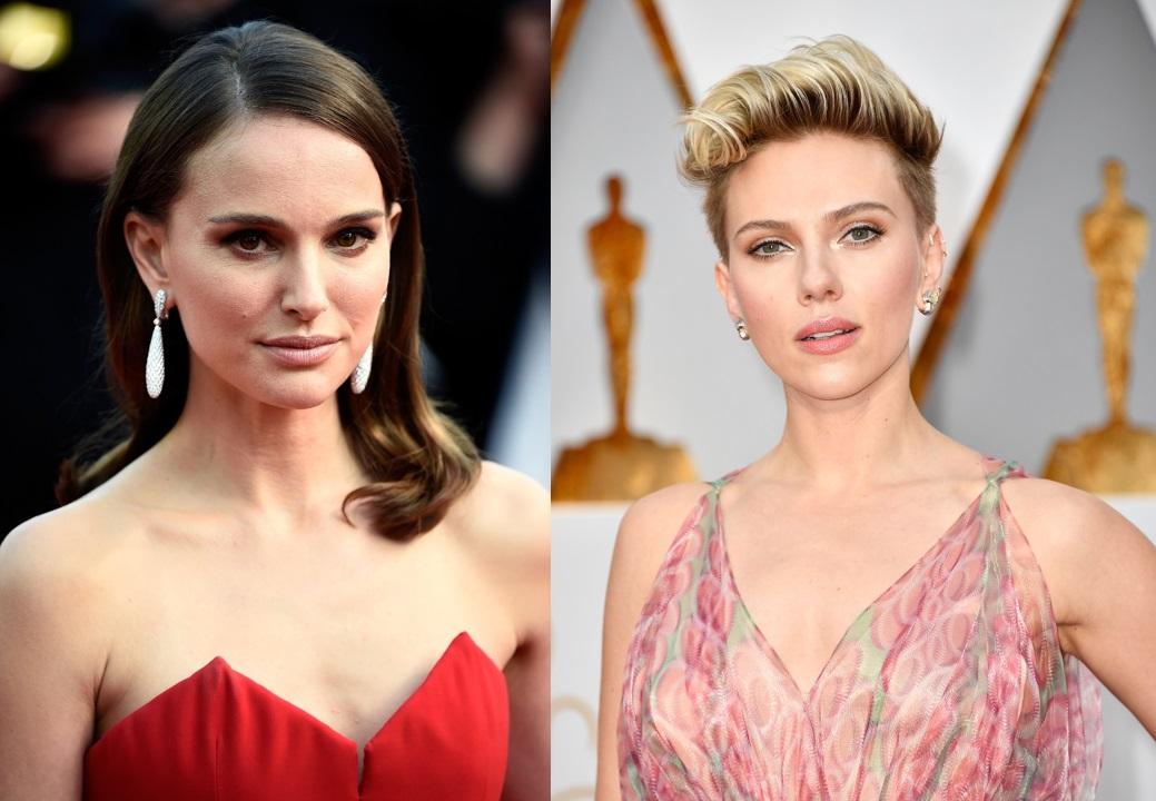 Natalie Portman and Scarlett Johansson