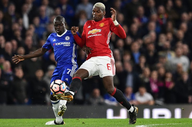 Paul Pogba and N'Golo Kante