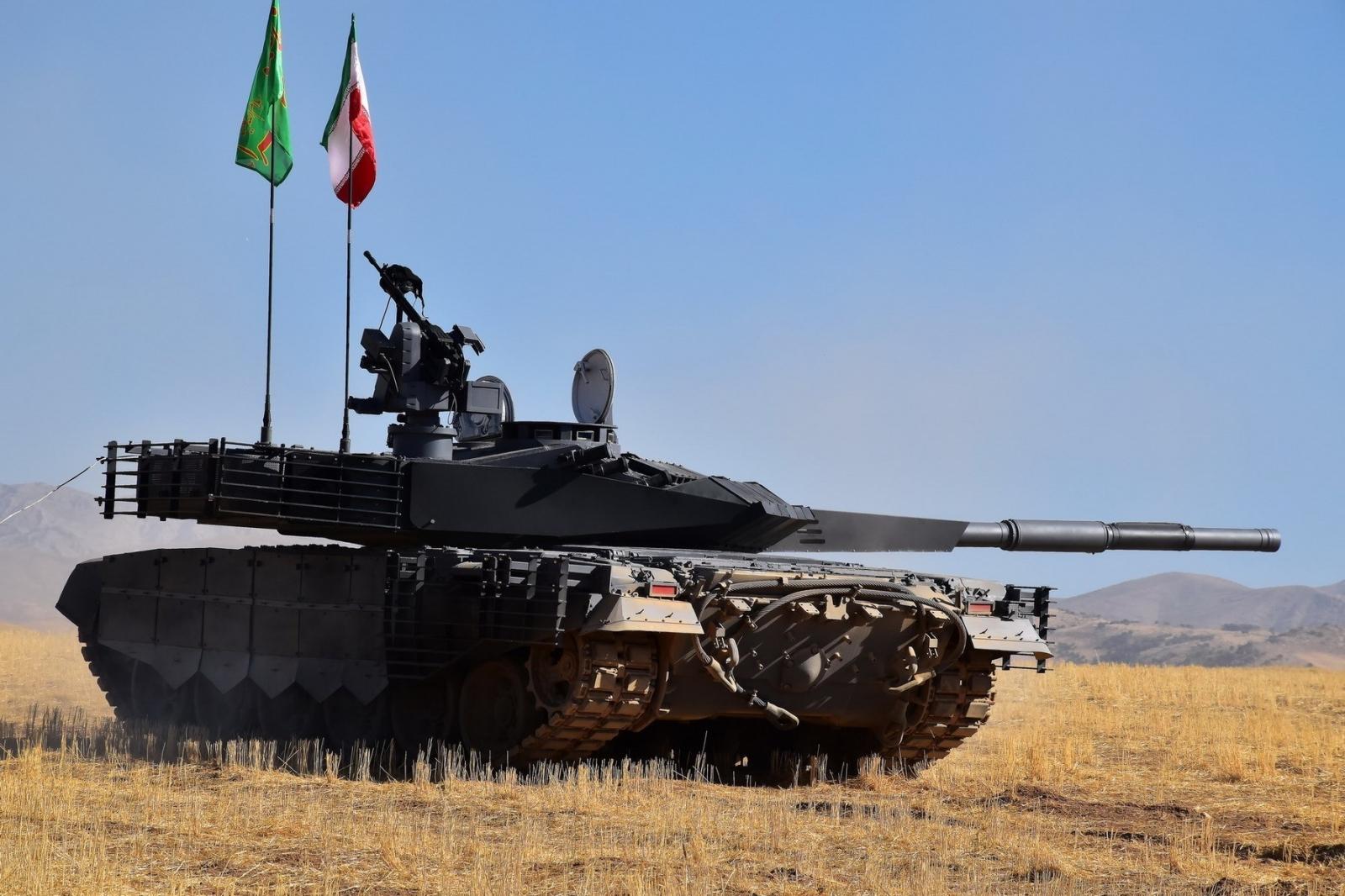 Karrar tank Iran