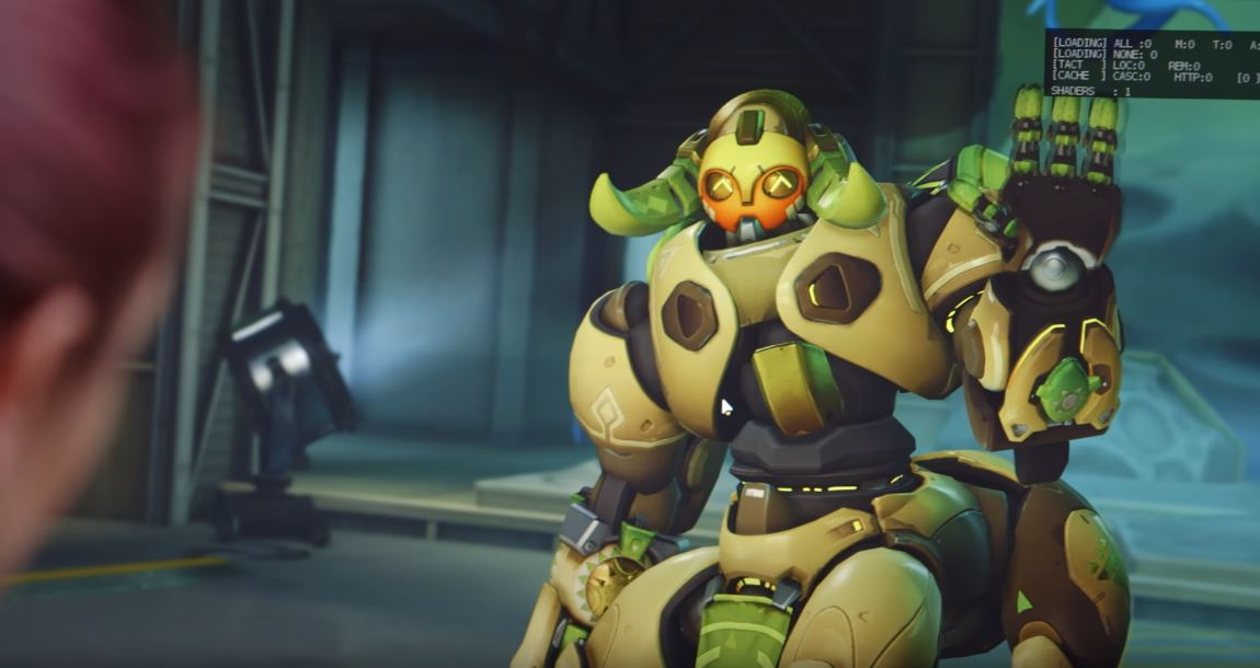 Orisa in development at BlizzardBlizzard
