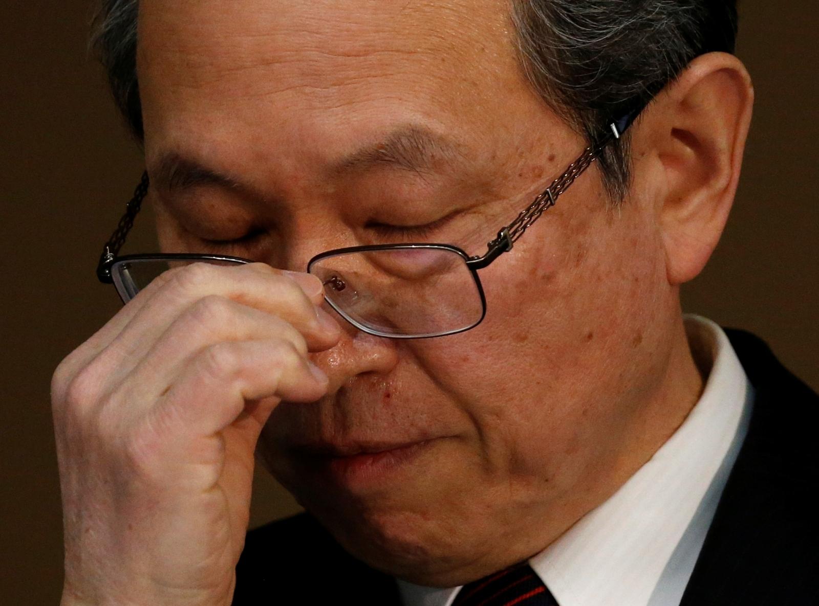 Toshiba Corp CEO Satoshi Tsunakawa