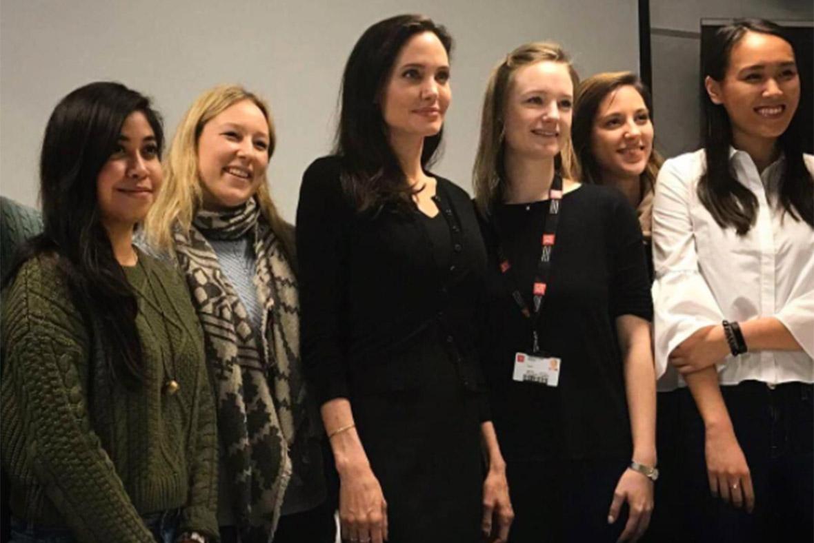 Angelina Jolie LSE