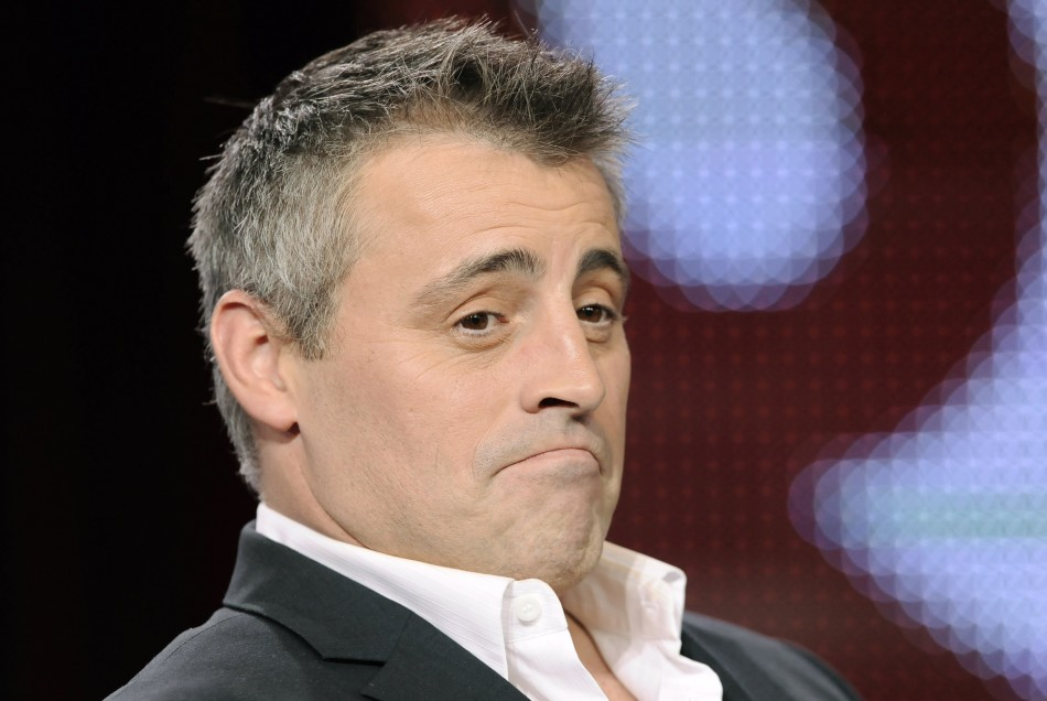 "Actor Matt LeBlanc takes part in a panel discussion for the show ""Episodes"" at the 2011 Winter Press Tour for the Television Critics Association in Pasadena, California"