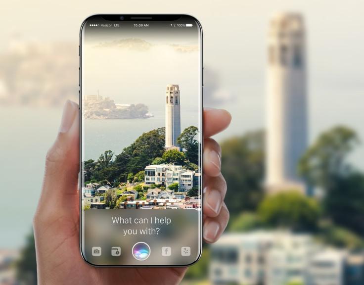 Apple iPhone 8 AR render