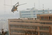 Afghanistan military hospital attack