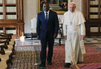 Pope Francis meets Joseph Kabila
