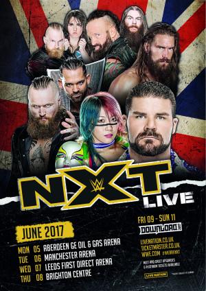 NXT UK tour