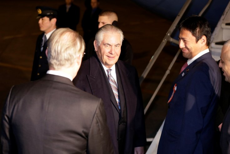 US Secretary of State Rex Tillerson Asia