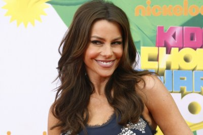 Actress Sofia Vergara poses at the 2011 Nickelodeon Kids Choice Awards in Los Angeles