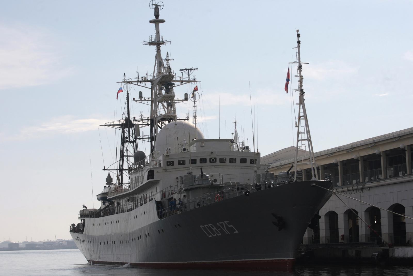Russian spy vessel