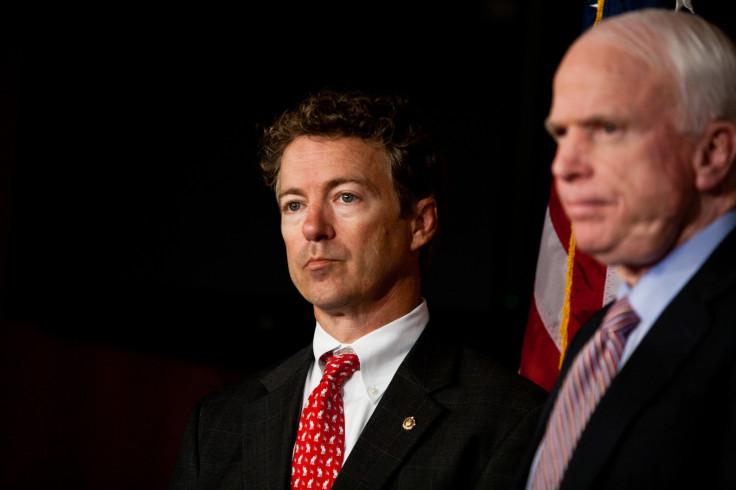 Rand Paul and John McCain