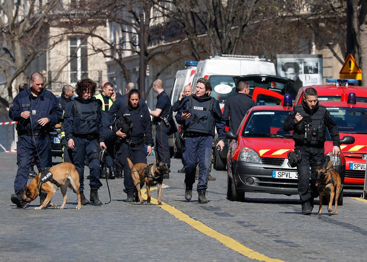 Paris letter bomb