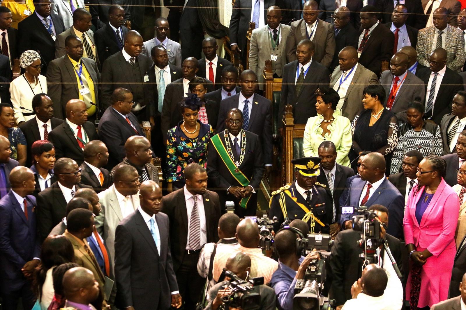 Zimbabwe Parliament