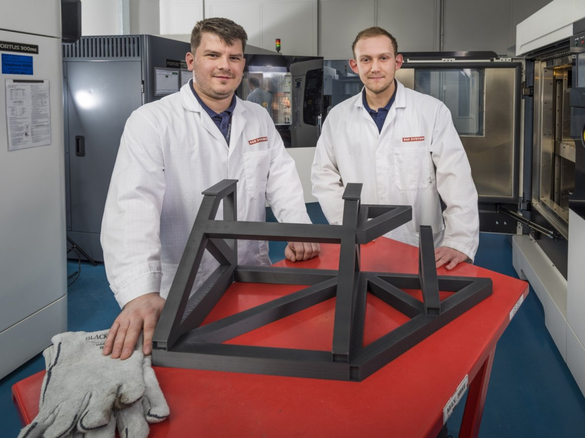 BAE Systems launches UK centre to push 3D printing and VR to speed