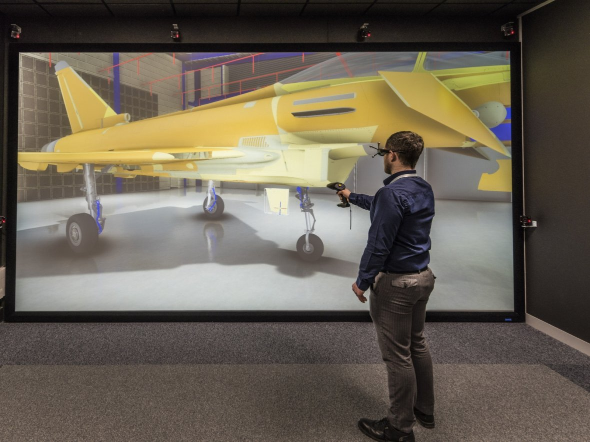 BAE Systems' VR Suite for visualising parts