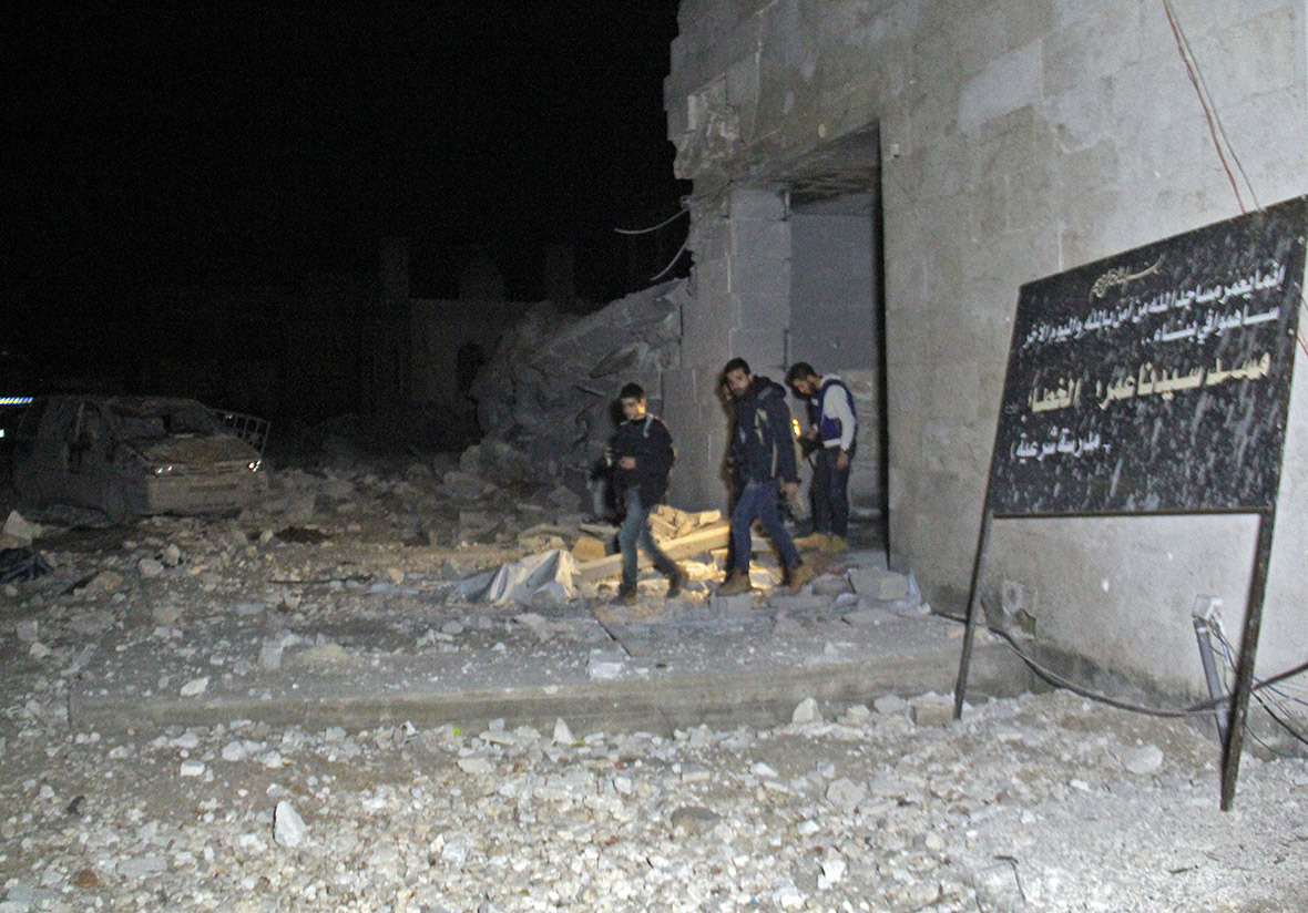 Syria mosque