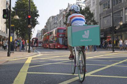 Deliveroo Cyclist
