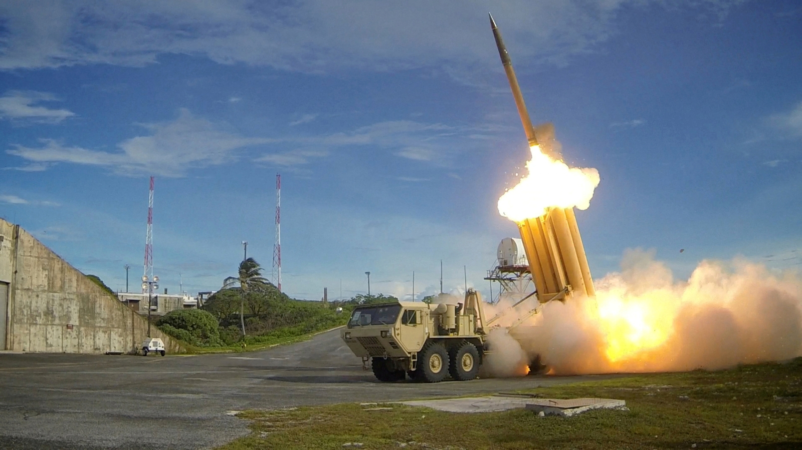 Thaad missile defence system