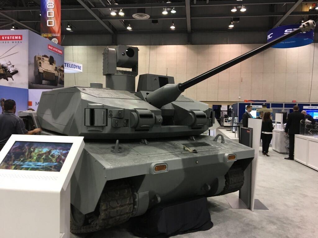BAE ARCV robotic tank