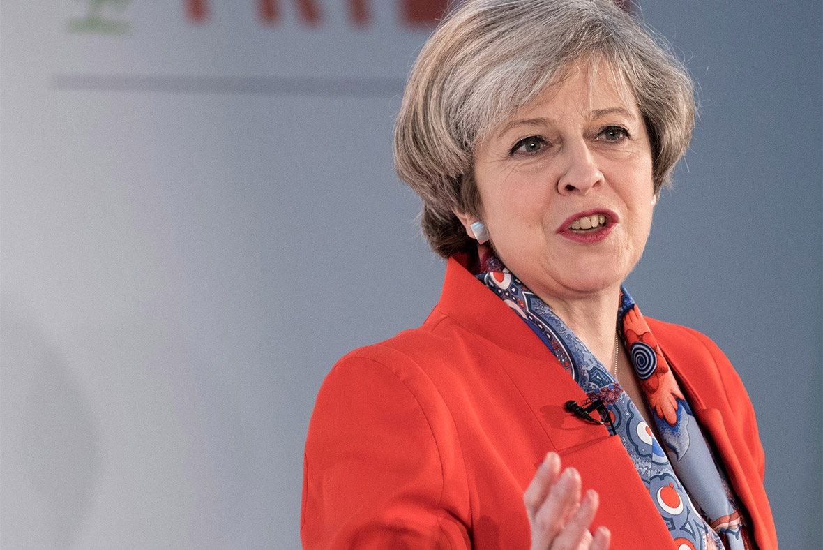 Theresa May calls United Kingdom 'an unstoppable force'