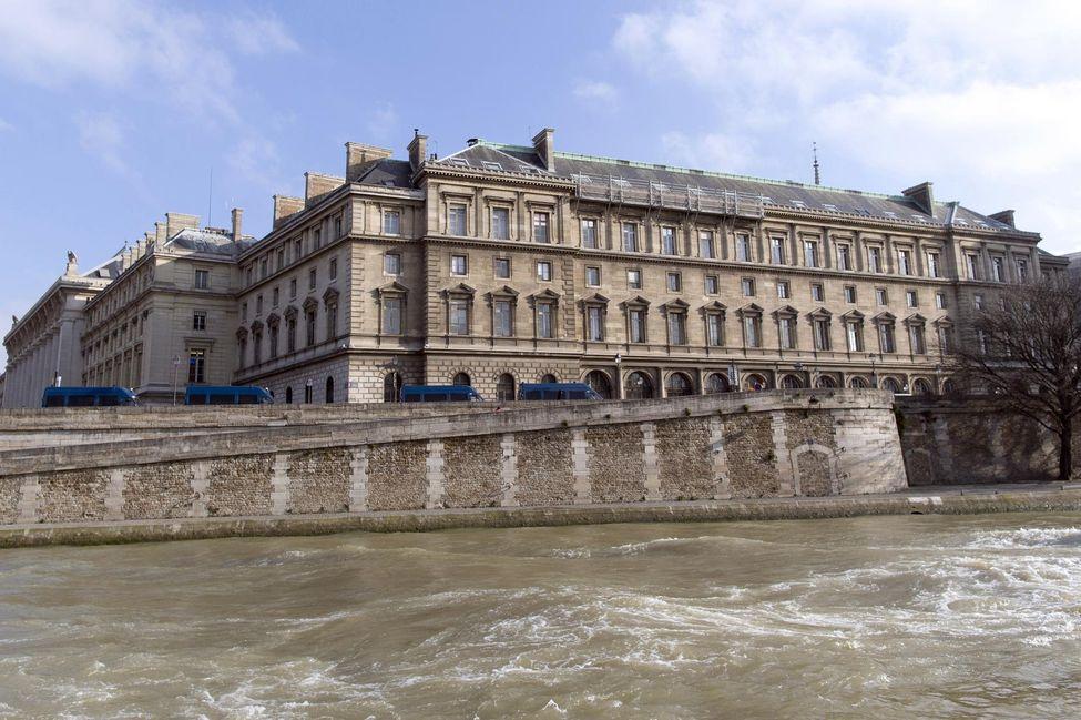 Police headquarters in Paris