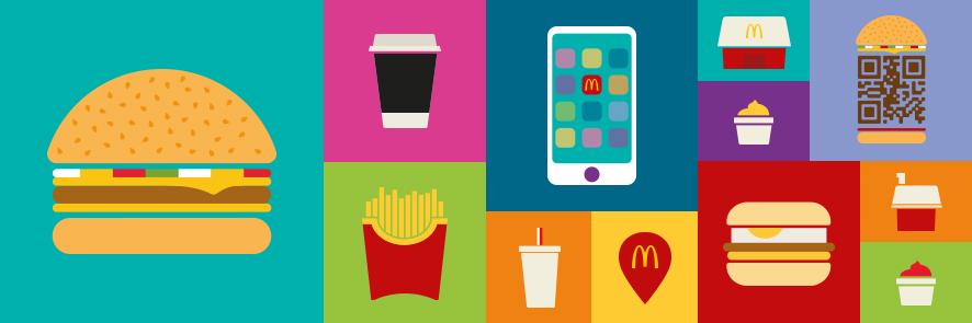 McDonald's website header