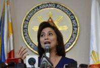 Philippines VP Leni Robredo