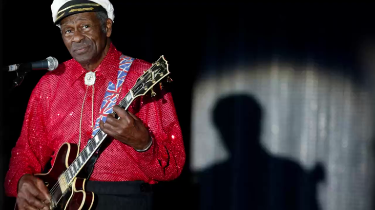 Rock 'n' roll legend Chuck Berry dies, aged 90
