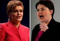 Nicola Sturgeon / Ruth Davidson