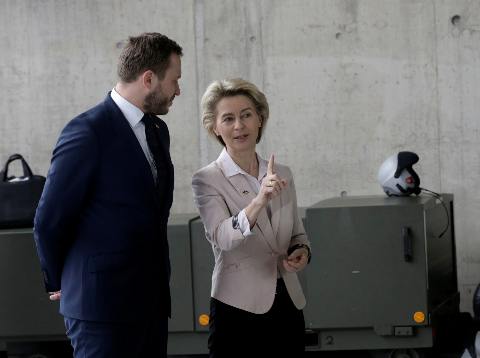German defense minister