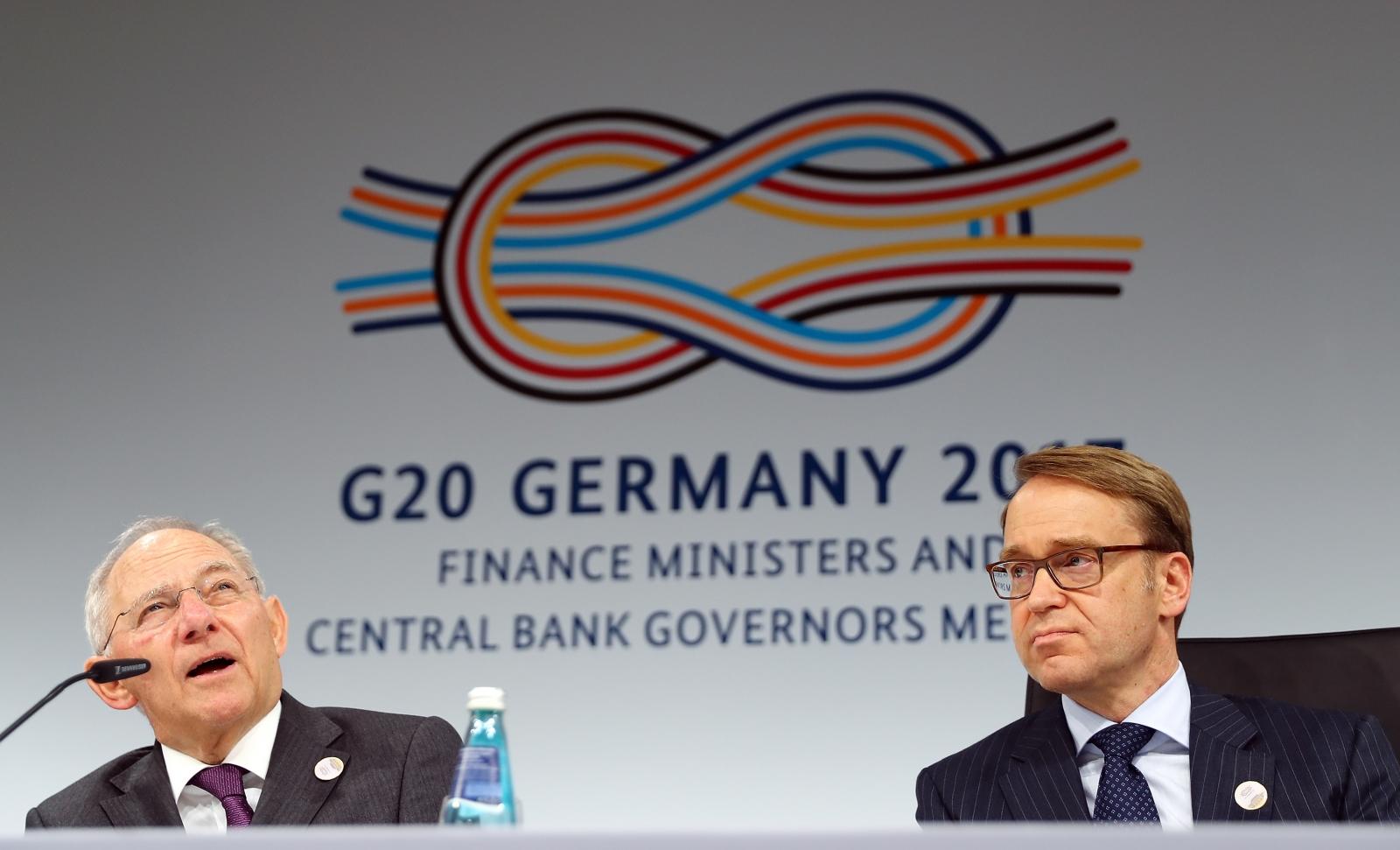 G20 meeting in Baden-Baden