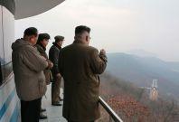 North Korea rocket engine test