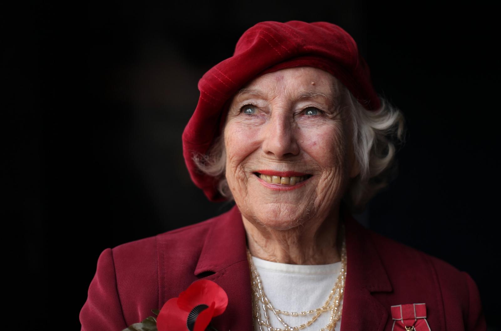 Forces sweetheart Dame Vera Lynn