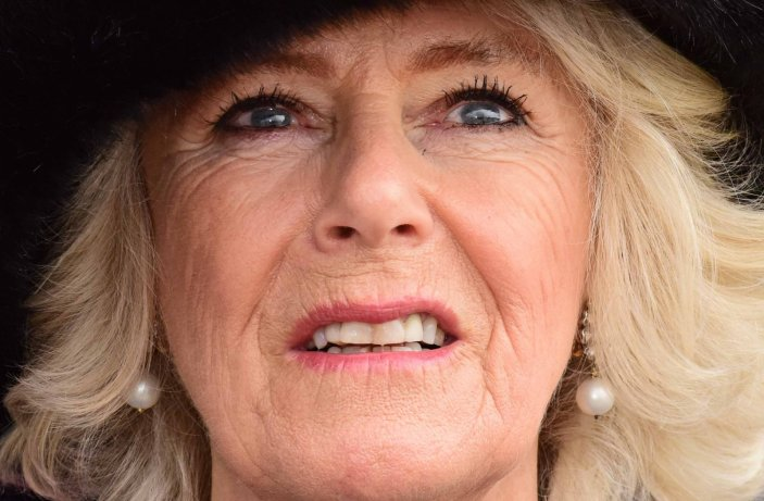 Camilla at RAF Leeming
