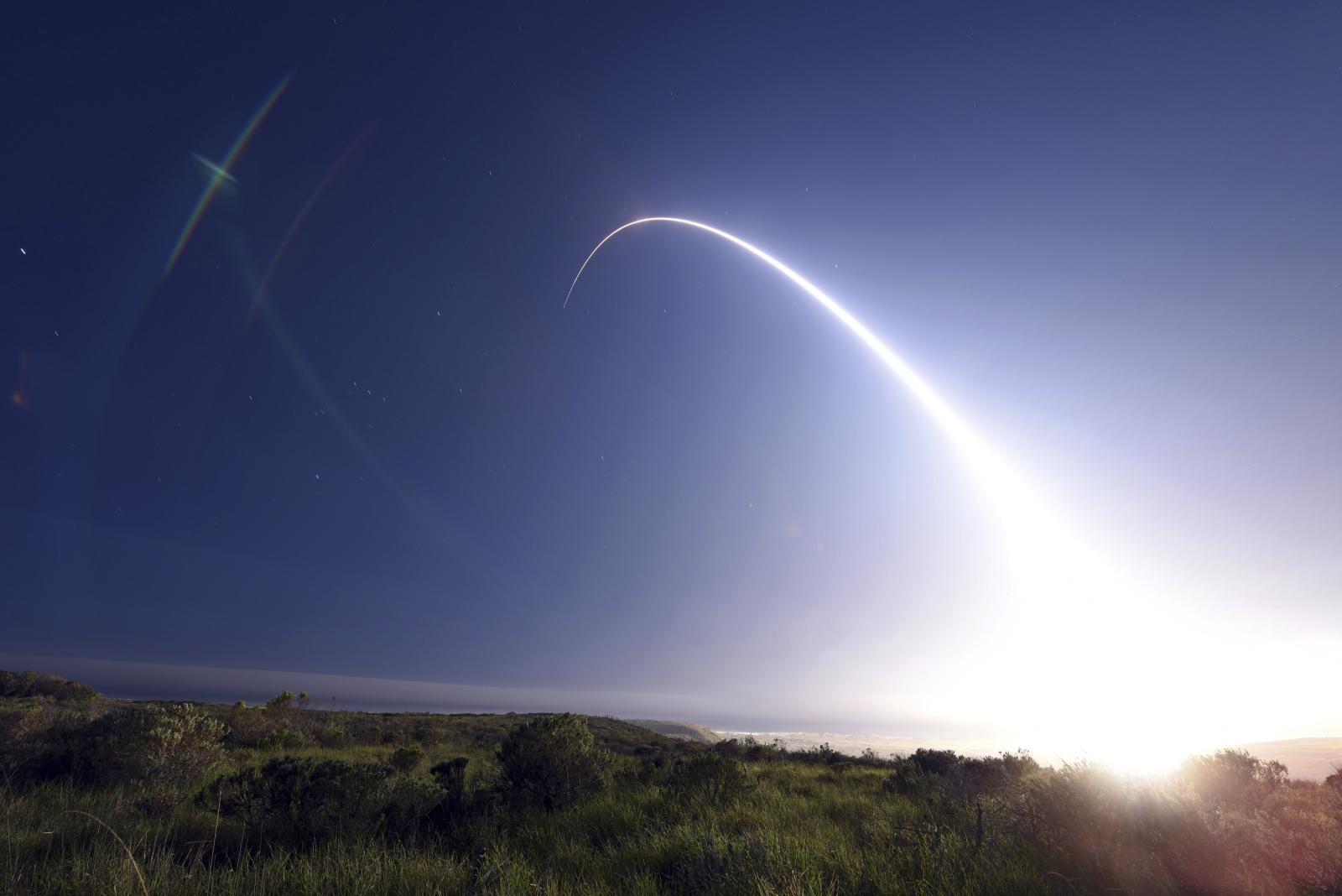 US Minuteman III ICBM