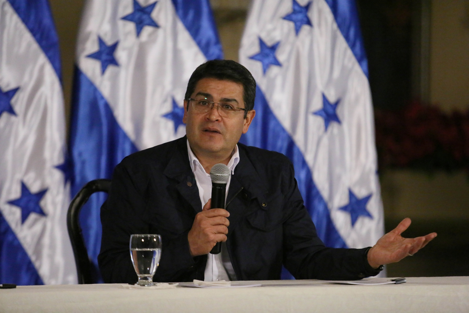 President Juan Orlando Hernandez