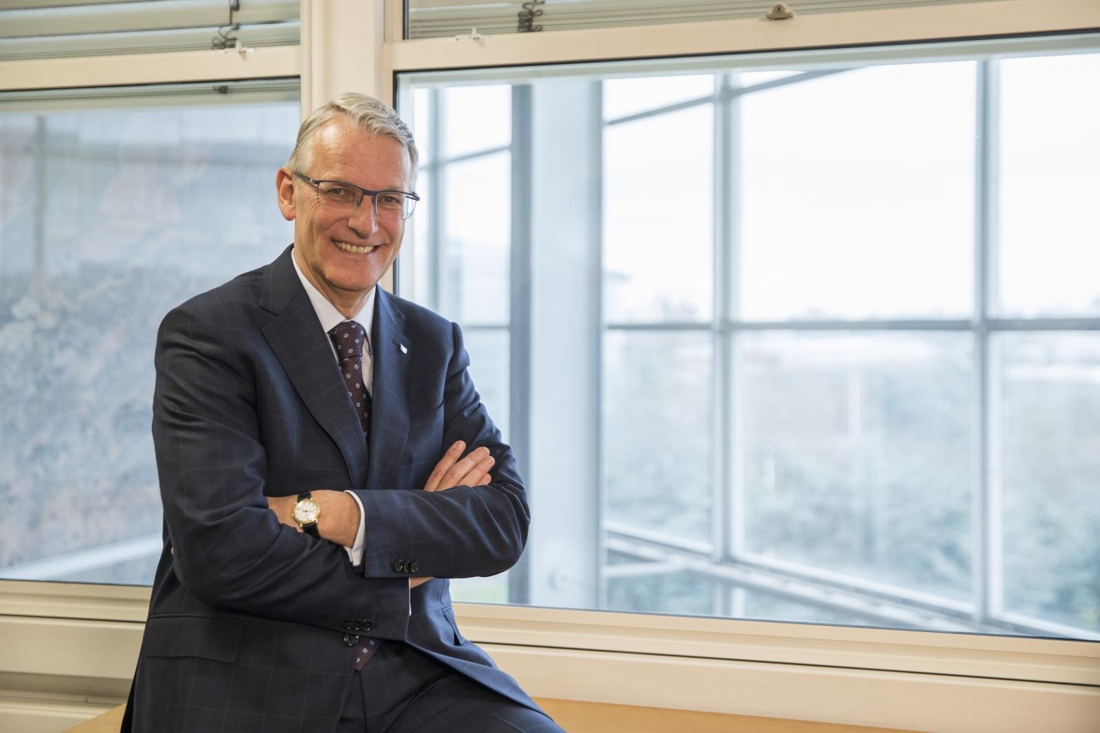 Canon European chief executive Rokus van Iperen